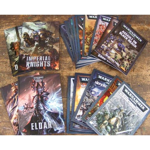 57 - 19 x Games Workshop Warhammer Codex/rule books...