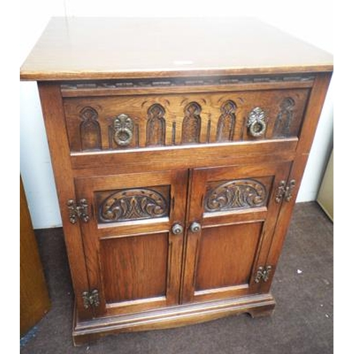 512a - Old charm style drinks cabinet...