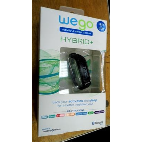20 - New Wego 24/7 Hybrid + Bluetooth Activity watch...