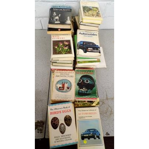 3 - 30x Various Topics Observer books and 9 others...