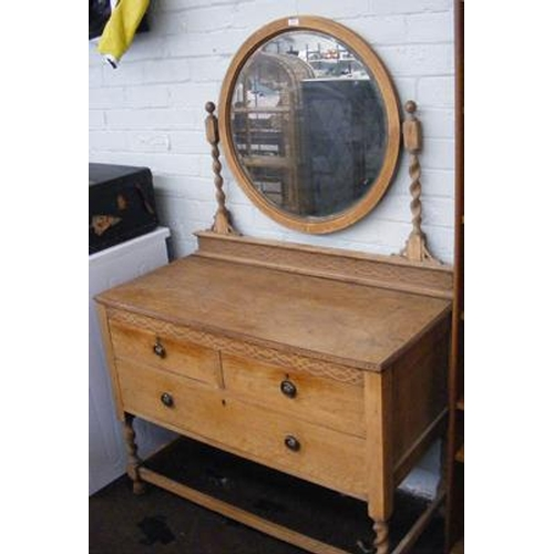 506 - Sandal wood dressing table...