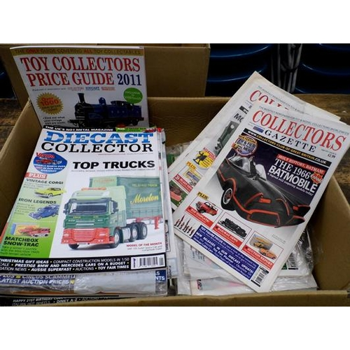 29 - Collection of 'Diecast Collector' magazines & Collector Gazette magazines...