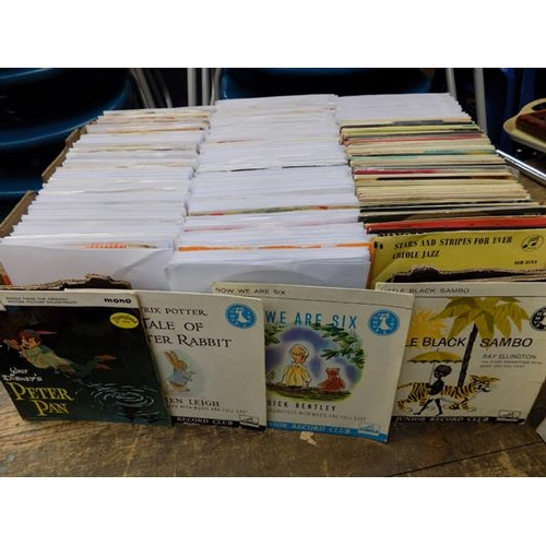 2 - Box of singles, approx. 500, 1960's...