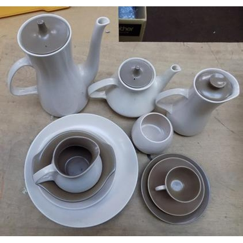 36 - Large Poole pottery tea/coffee set - approx. 40 pieces...