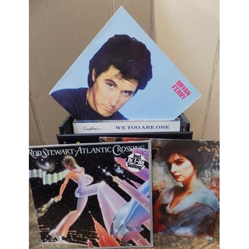 50 - Box of records, good condition...