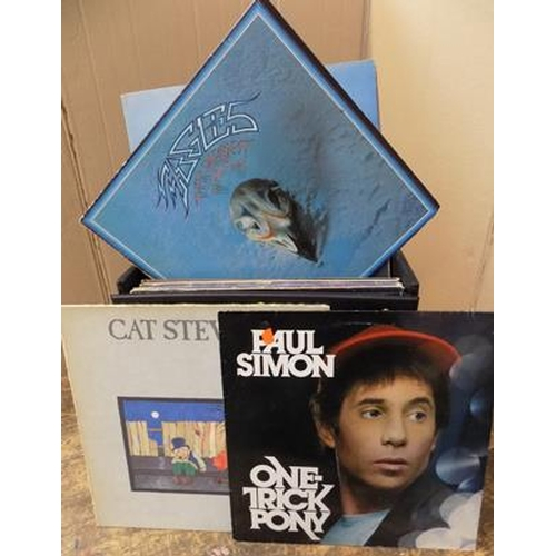 6 - Box of records, good condition...