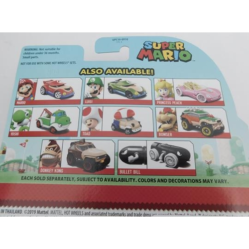 29a - Hot Wheels Super Mario carded diecast - full set of 8...