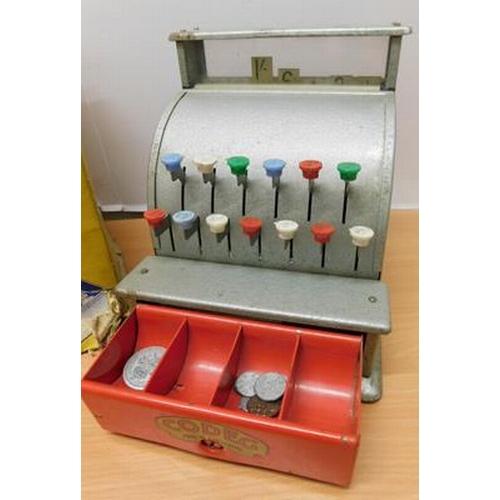 5 - Codeg vintage cash register in working order with original box...