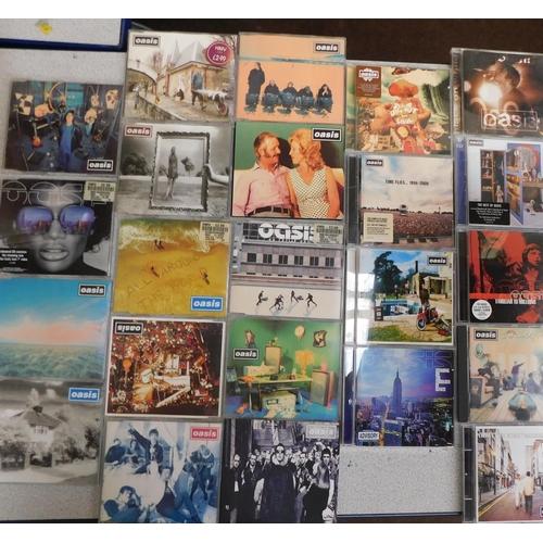 46 - Oasis CD's inc 9 albums & 14 singles