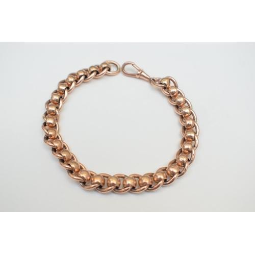 24 - Gold Bracelet 9Ct Ring Hallmarked 39.6G. Total Weight 39.60g...