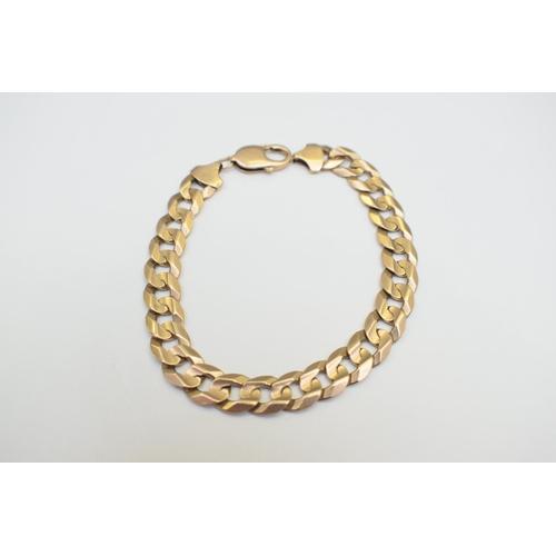 45 - Gold Bracelet 9Ct Yellow Gold Hallmarked 23.6G. Total Weight 23.60g...