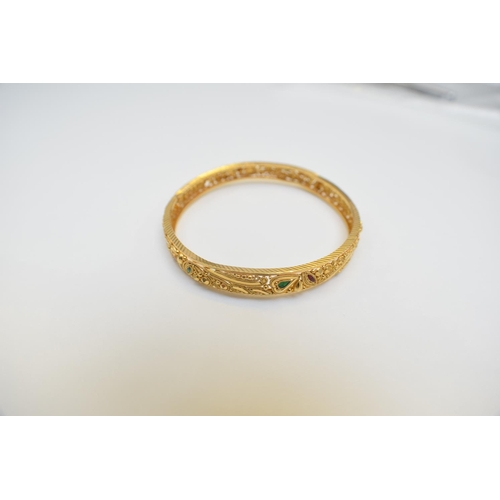 57 - Bangle 22Ct Yellow Gold Hallmarked 15.73G. Total Weight 15.73g...