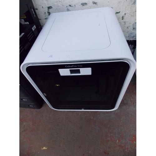 119 - A WHITE CUBE PRO 3D PRINTER...