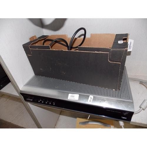 131 - A SILVER HITACHI AV3000E AUTO VISION CONTROL BOX W/O...