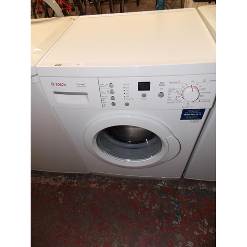 138 - A BOSCH CLASSIXX 7 WASHING MACHINE W/O...