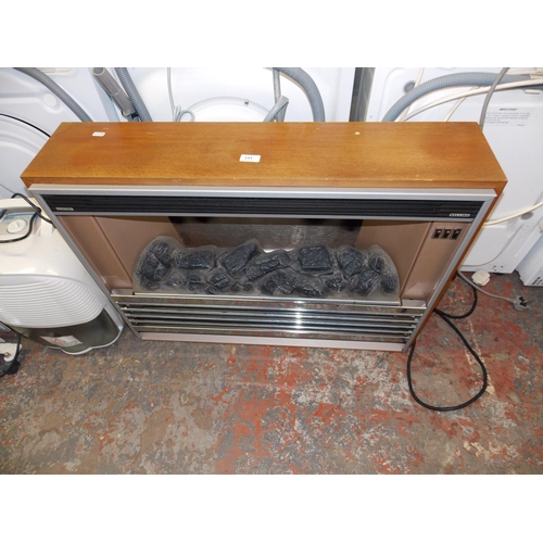 144 - A VINTAGE BELLING ELECTRIC FIRE W/O...