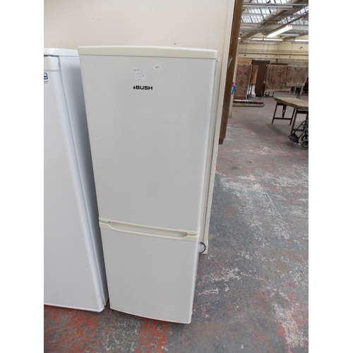 112A - A BUSH FRIDGE FREEZER W/O...