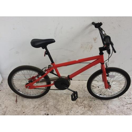 11 - A RED BOYS BMX...