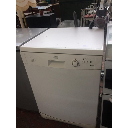 170 - A ZANUSSI ZSF 6128 UNDER COUNTER DISHWASHER...