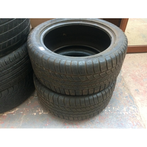 26 - A PAIR OF CONTINENTAL 255-40-17 TYRES...
