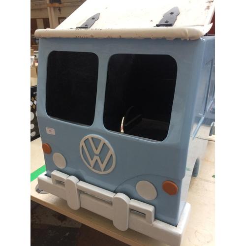 326 - A VW CAMPERVAN TOY BOX...