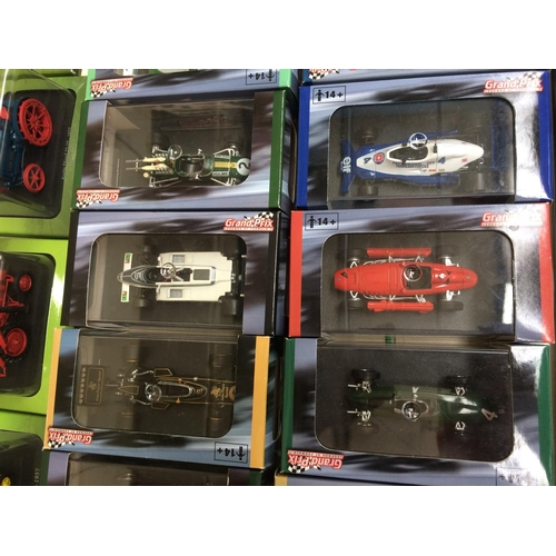 365 - A COLLECTION OF EIGHTEEN ATLAS EDITIONS GRAND PRIX LEGENDS OF FORMULA 1 MODEL CARS...