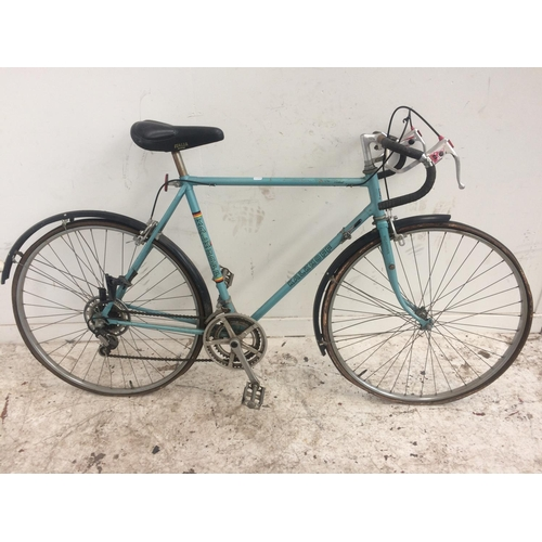 7 - A VINTAGE BLUE KALKHOFF GENT'S RACING BIKE WITH 10 SPEED SIMPLEX GEAR SYSTEM...