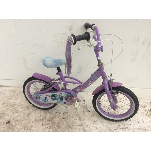 3 - FOUR BIKES TO INCLUDE A GREY APOLLO MX20.2 BOY'S BMX AND A BLACK AND BLUE UNIVERSAL DH18 BOY'S BMX S...