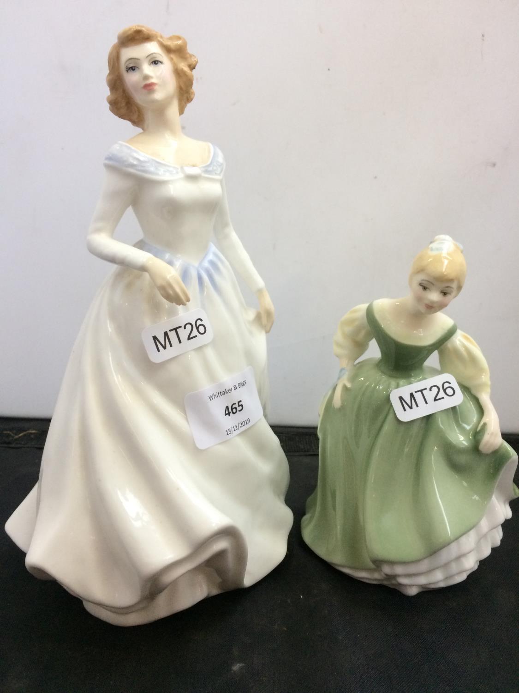 Royal Doulton figurine Fair Maiden HN2211 Second