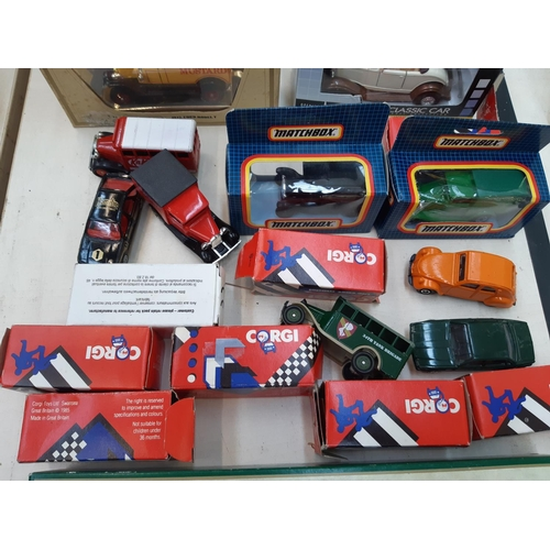 437 - A COLLECTION OF VARIOUS DIECAST VEHICLES TO INCLUDE CORGI MODELS OF YESTERYEAR, THE DAYS GONE BY ETC...