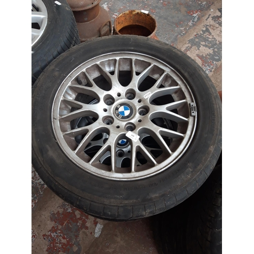 123 - A SET OF FOUR BMW 2003 5 STUD 16