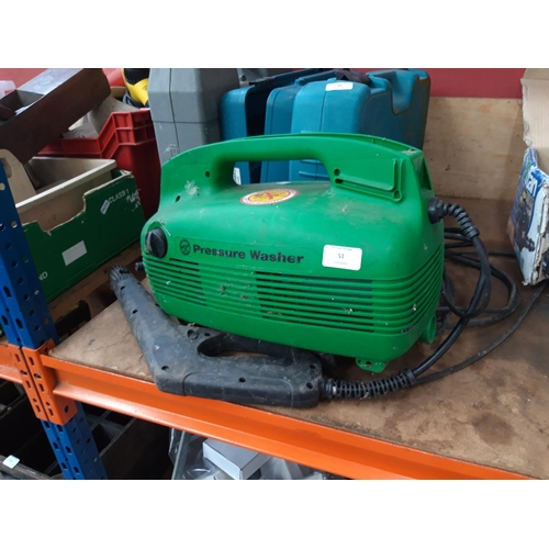 51 - A GREEN PERFORMANCE POWER ELECTRIC PRESSURE WASHER...