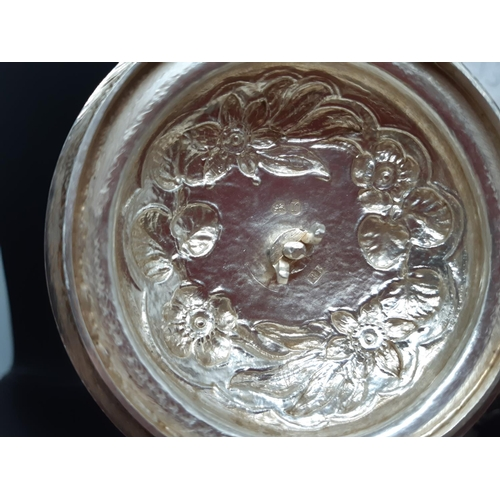 73 - A superb quality early 19th century hallmarked London silver, near matching four piece tea and coffe...