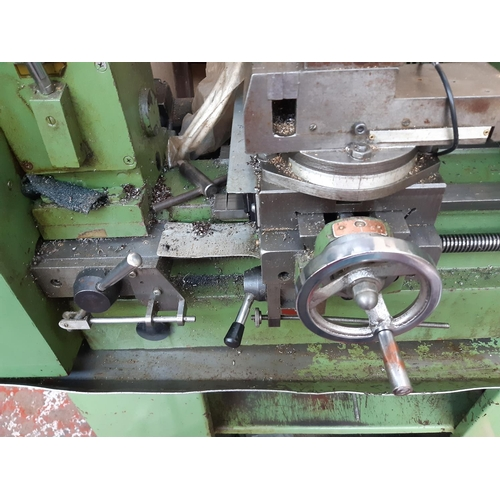 1073 - A green Chester MF42B mains electric metalworkers multi lathe and mill drill with 26