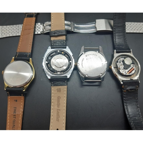 29 - Four various mens wristwatches...