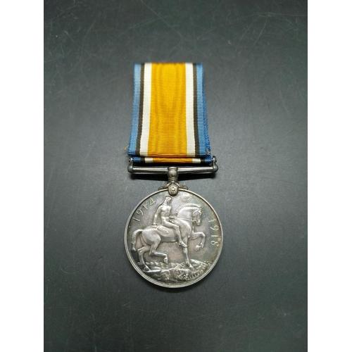 12 - A WWI British War Medal presented to 30276 PTE. J.H. Allchurch Worcester Regiment