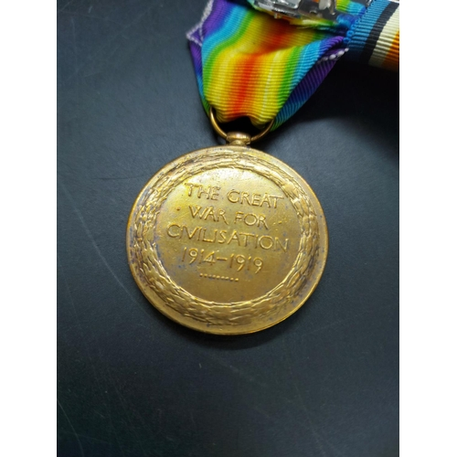 13 - A WW1 British Medal trio comprising 1914-15 Star, 1914-18 War Medal and 1914-18 Victory Medal, issue...
