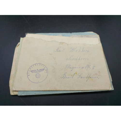 22 - A collection of WWII German field post