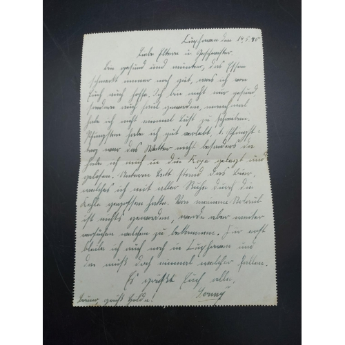 23 - A collection of WWII German field post