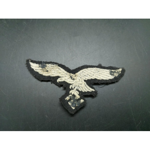 24 - A WWII German cloth patch