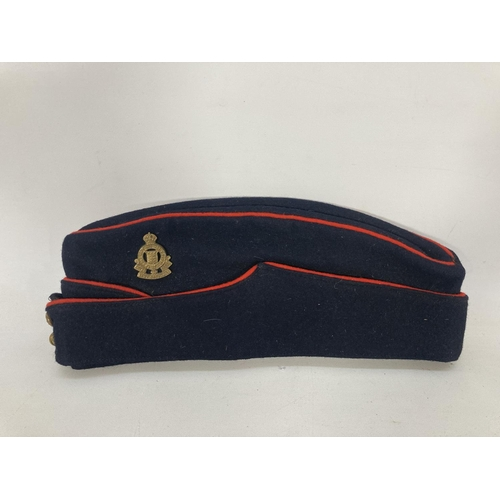 31 - Two Royal Army Ordnance Corps caps and one ATS cap