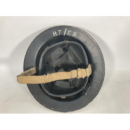 36 - A WWII ARP wardens helmet