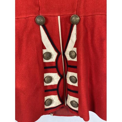 37 - A Black Watch regiment red dress uniform jacket