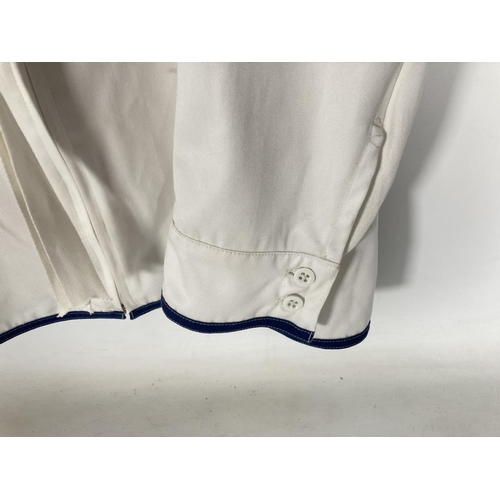 41 - A post war British Navy tropical jacket and white front