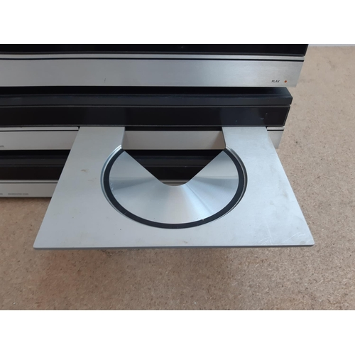 1025 - Three items of Bang & Olufsen hi-fi, one Beocord 5500 type 4932 cassette deck, one Beogram CD5500 ty...