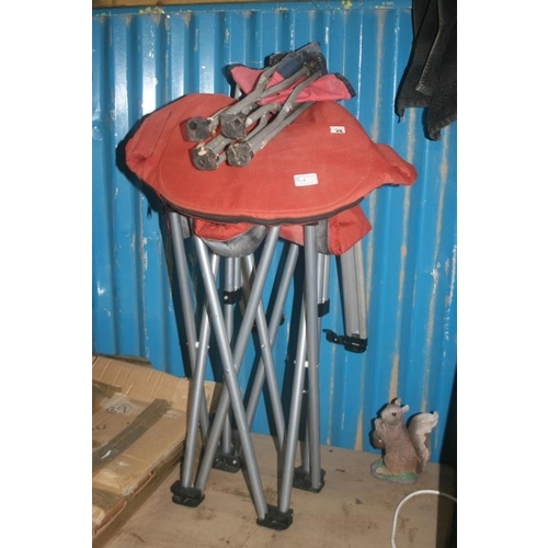 4 - 2 FOLDING CAMPING CHAIRS...