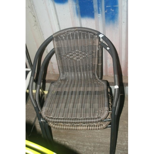 26 - 2 OUTDOOR CHAIRS...