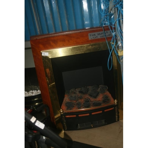 4 - ELECTRIC FIRE...