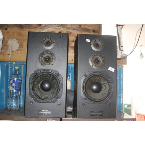 3 - PAIR OF PIONEER SPEAKERS...