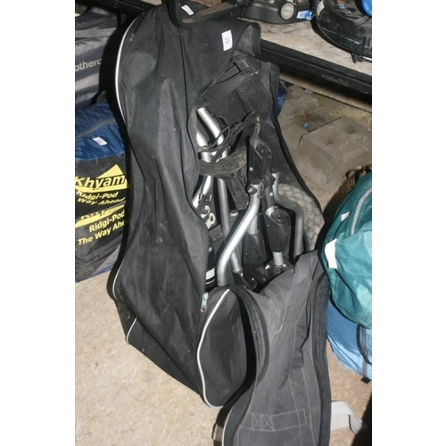 39 - GOLF TROLLEY IN BAG...